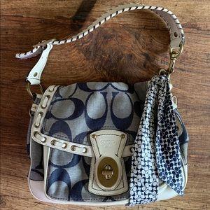 Limited Edition Coach denim hobo bag